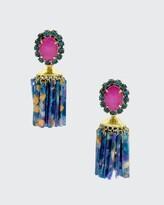 Thumbnail for your product : Elizabeth Cole Raakel Tassel Drop Earrings