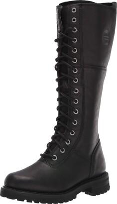 "Harley-Davidson Women's Rr-Walfield/Blk 14"" Lace Up Boot"