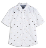 Esprit OUTLET slim fit shirt w bird print