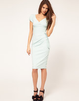 Dress with Bow Side