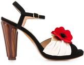 Chie Mihara Jusla floral-appliqued sandals