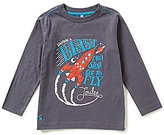 Joules Little Boys 3-6 Blast Off Screen Print Top