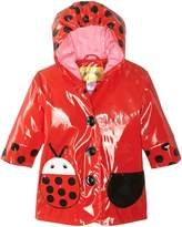 Kidorable Little Girls' Ladybug All Weather Waterproof Coat