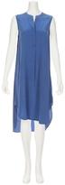 L'Agence Sleeveless Henley Dress