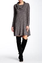 Max Studio Cowl Neck A-Line Dress