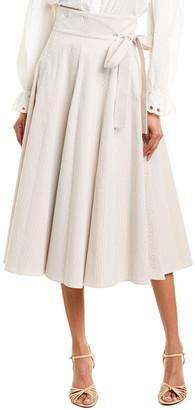 Alexis Ikram Midi Skirt