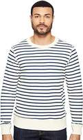 Joe's Jeans Men's Edison Sweatshirt Vintage Sailor Stripe