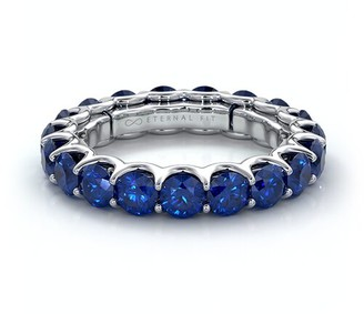 The Eternal Fit 14K 3.60 Ct. Tw. Sapphire Eternity Ring