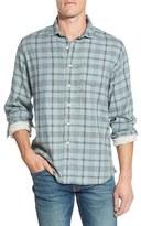 Grayers Men's 'Chartley' Trim Fit Plaid Double Woven Sport Shirt