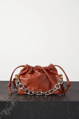 Yuzefi Bom Mini Chain-embellished Leather Tote - Tan