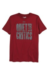 Under Armour Boy's Quiet The Critics Graphic T-Shirt