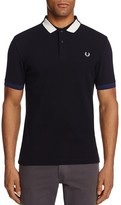 Fred Perry Block Tipped Piqué Polo Shirt