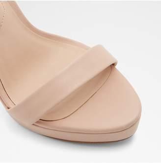 Aldo Varalith Heeled Platform Sandal - Nude