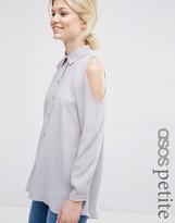 Asos Cold Shoulder Blouse