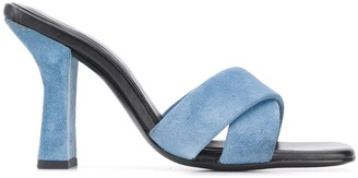 Dorateymur Retox block heel sandals