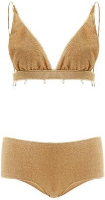 Oseree Pearl Embellished Bikini