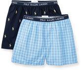 Ralph Lauren Woven Boxer 2-Pack