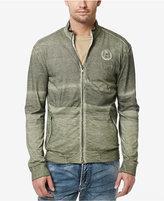 Buffalo David Bitton Men's Kirock Embroidered Graphic-Print Full-Zip Cotton Sweatshirt