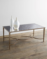 Horchow Kimbra Metal Coffee Table