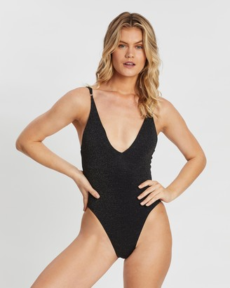 Seafolly Stardust Deep V-Neck Maillot