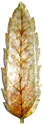 Dacor Eangee Home Eangee Home Design Leaf Wall Decor Large Gold