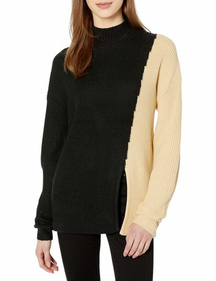 The Fifth Label Women's Fiction Colorblock Chunky Knit Sweater