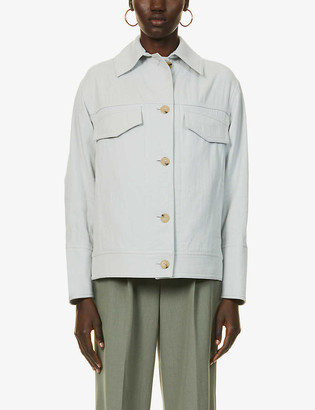 Vince Casual cotton-twill jacket