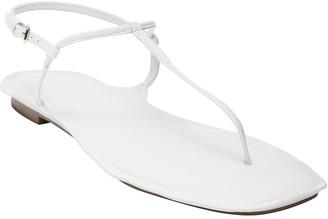 Banana Republic Leather Skinny T-Strap Thong Sandal
