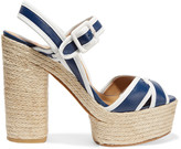 Castaner Two-tone leather sandals