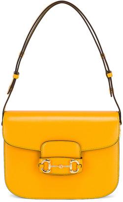 Gucci 1955 Horsebit Shoulder Bag in Crop | FWRD