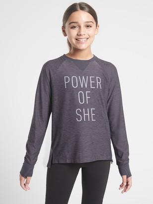 Athleta Girl Power Of She Top
