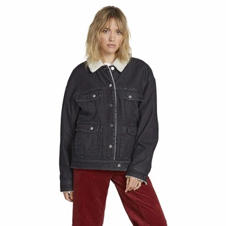 Volcom Denim Jacket Woodstone - Women Denim Jacket - Black