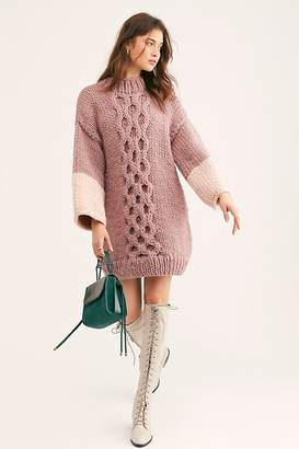 Free People Sugar Icing Tunic by The Knitter at