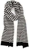 Rebecca Minkoff Stripe Knit Blanket Scarf