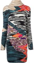Missoni patterned knit dress - women - Nylon/Wool - 38