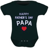 TeeStars - Happy Father's Day Papa Bodysuit Gift for Grandpa Cute Baby Onesie