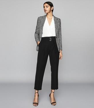 Reiss Keeley - Sleeveless Tie Detail Top in White