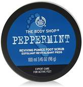 The Body Shop Peppermint Reviving Pumice Exfoliating Foot Scrub
