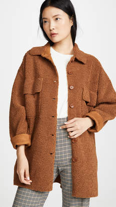 Moon River Midi Button Front Jacket