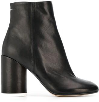 MM6 MAISON MARGIELA block-heel ankle boots