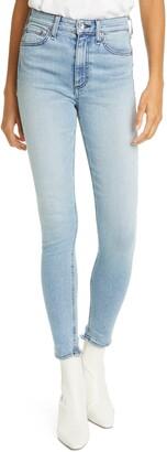 Rag & Bone Nina High Waist Skinny Jeans