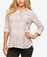 Rails Maternity Plaid Shirt