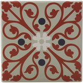 Maxwell & Williams Medina Sefrou Ceramic Square Tile Coaster, 9cm