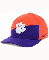 Nike Clemson Tigers Verbiage Swoosh Flex Cap
