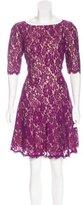 Monique Lhuillier Lace A-Line Dress w/ Tags