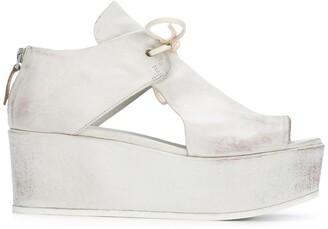 Marsèll Velvet Platform Sandals