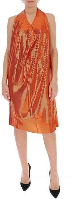 Bottega Veneta Sequins Halter Neck Dress