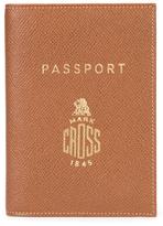 Mark Cross Saffiano Leather Passport Holder