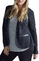 Tart Plus Size Women's Print Two-Button Blazer