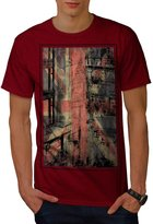 London City England Men XXXL T-shirt | Wellcoda